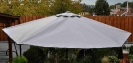 Sonnenschirm aus LKW Plane