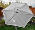 Sonnenschirm aus LKW Plane 2
